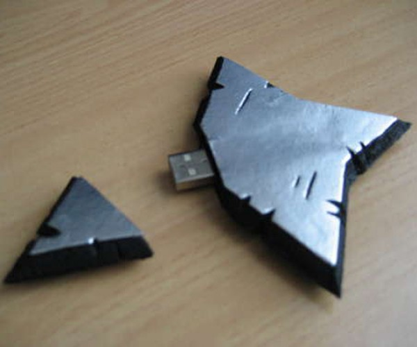 Shuriken USB Flash Drive: for DIY Ninjas