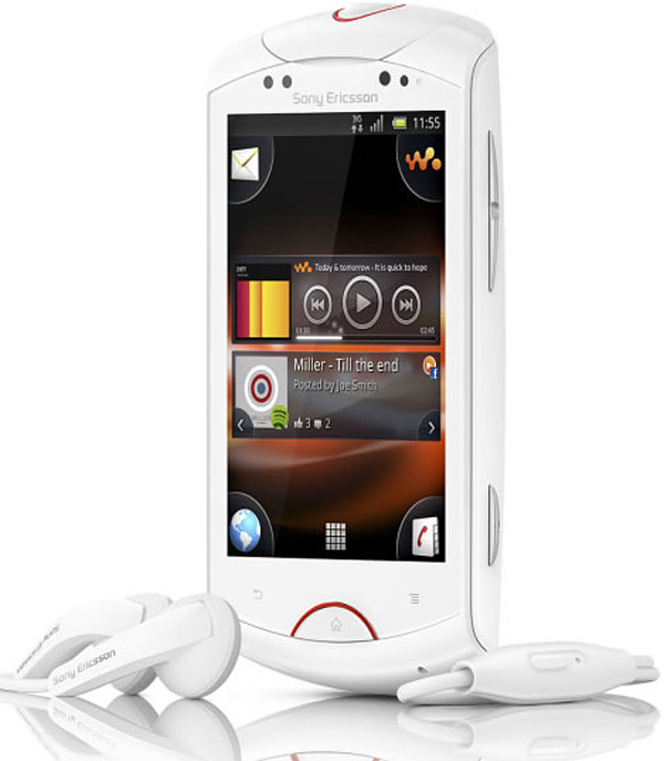 Sony Ericsson Live with Walkman Phone: Sharing on Droids ...