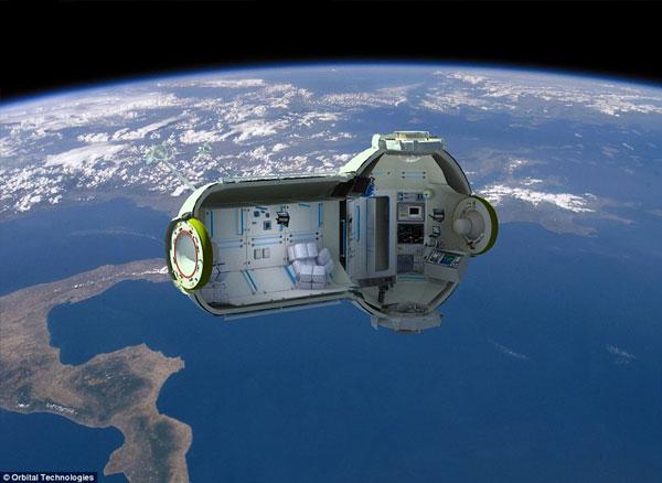 Orbital Technologies Space Hotel