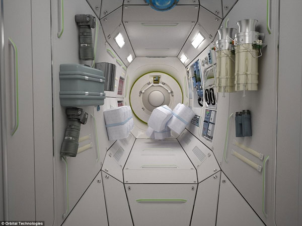 Orbital Technologies Space Hotel