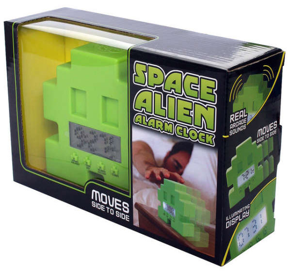 space invaders alarm clock 2