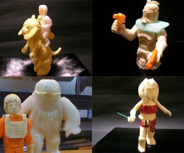 star wars vegetable carvings by okitsugu kado