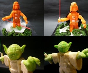 Star Wars Vegetable Carvings: Just What the Jedi Ordered
