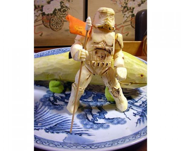 star wars vegetable carvings by okitsugu kado 7
