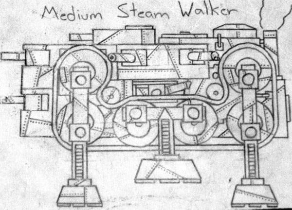 steam_walker_sketch_by_beau_donnan