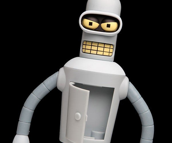 Talking Bender Has Plenty to Say, None of it Nice