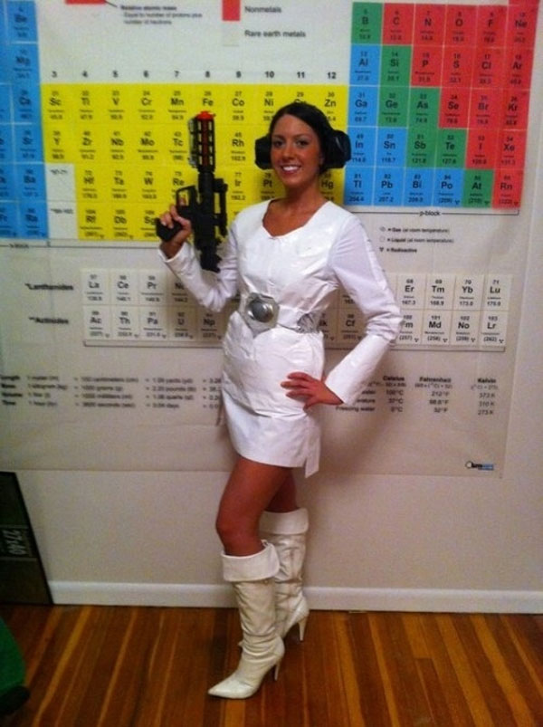 Duct Tape DIY Princess Leia