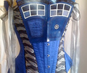 Come Along Pond, Wear This TARDIS Corset