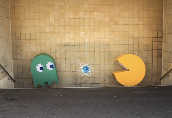 urban pac-man by sergej hein