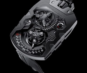 Urwerk UR-1001 Pocket Watch Times the Millennium