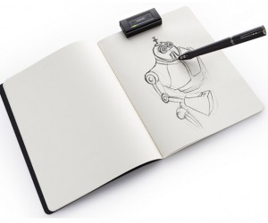 Wacom Inkling Combines Physical Drawings with the Digital World