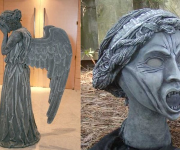 Doctor Who Weeping Angel Costume: Whatever You Do, Don't Blink