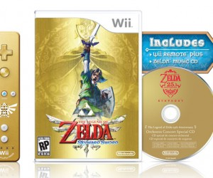 Legend of Zelda: Skyward Sword and Gold Wiimote Coming November 20th