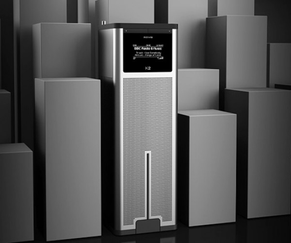 Revo K2 Speaker/Dock Looks Like a Skyscraper for Ants