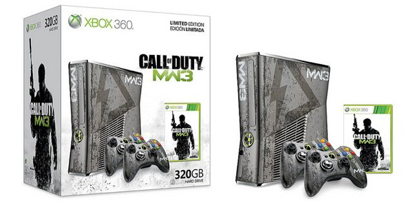 limited edition call of duty modern warfare xbox 360 console