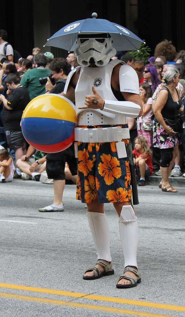adidas stormtrooper star wars empire cosplay parade dragon*cib