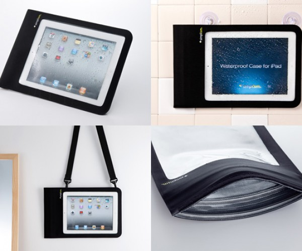 Simplism Waterproof iPad Case: Take Your iPad into the Bathroom or the Rain
