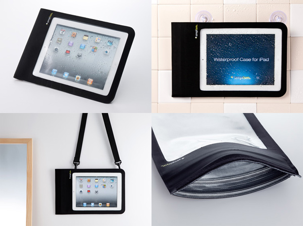 waterproof ipad case simplism japan