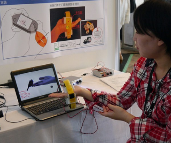 Invention Simulates Objects Passing Through Your Hand: Now You Can Get Stabbed, Virtually