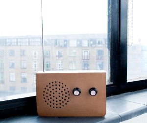 Suck UK's Cardboard Radio: Easily Recyclable to Say the Least