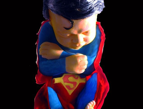 alexandre nicolas superhero fetus superman batman spiderman