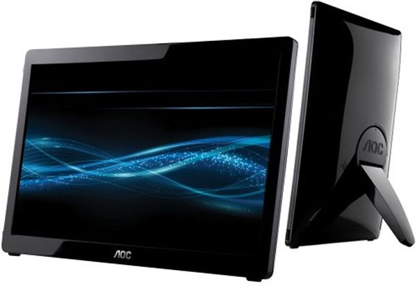 aoc usb monitor led portable mobile