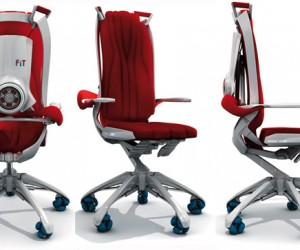 Fitness@Work Office Chair Concept Lets You Get a Workout While You're Working