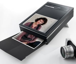 See What You Print Concept: Tablet + Inkjet Printer