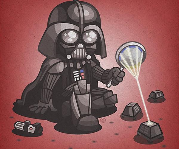Star Wars Kid Baddies: Growing Up on the Dark Side