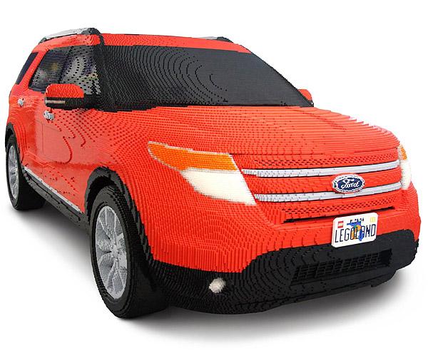 Lego ford explorer made from over 382 000 bricks