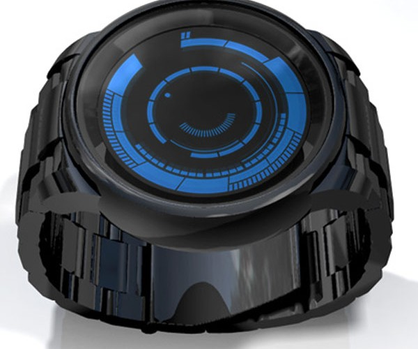 Tokyoflash Kisai Rogue Touch Tells Time in Two Time-Zones for Double the Confusion
