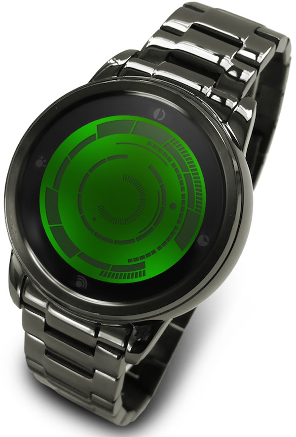 tokyoflash kisai rogue touch japan led lcd watch timepiece