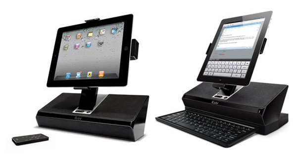 iluv ipad workstation dock pc home mobile