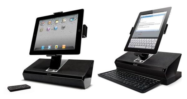 iluv ipad workstation dock pc home mobile