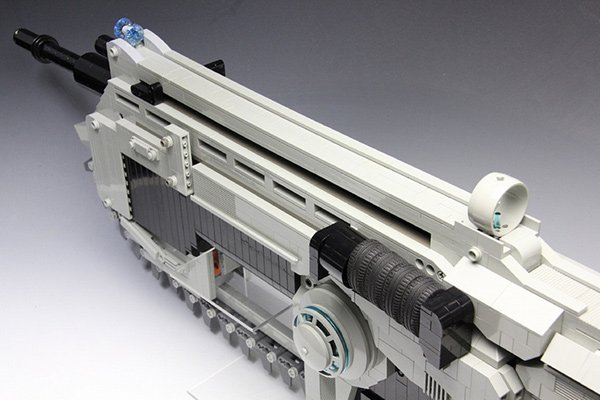 LEGO Gears of War Lancer Rubber Band Assault Rifle: No You Can't Use ...