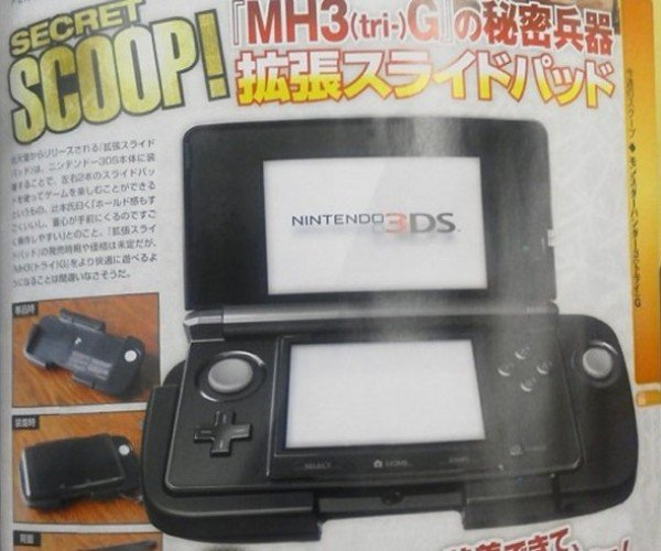 Nintendo 3DS Circle Pad Attachment Adds an Analog Stick and Shoulder Buttons