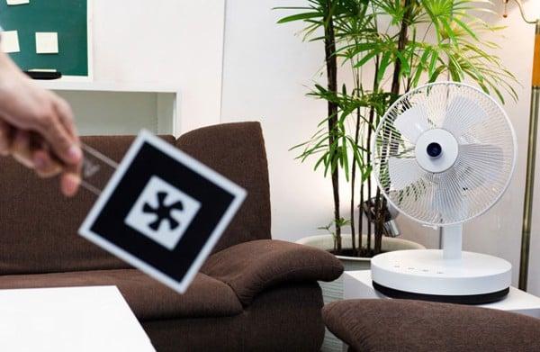 AirSketcher Robotic Fan