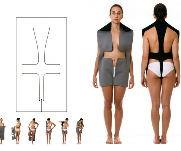 Neoprene Laser-Cut Clothes Seem Less Like Clothing, More Like Nothing