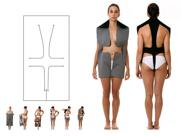 Body as Joint Seamless Clothing