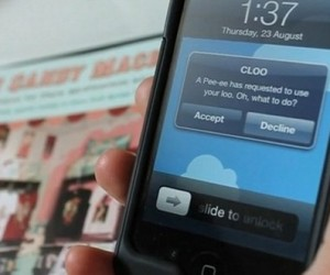 CLOO iPhone App Wants You to Rent Out Your Loo to Total Strangers