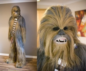 Custom Chewbacca Costume is Amazing, Sure to Lead to More Bigfoot Sightings