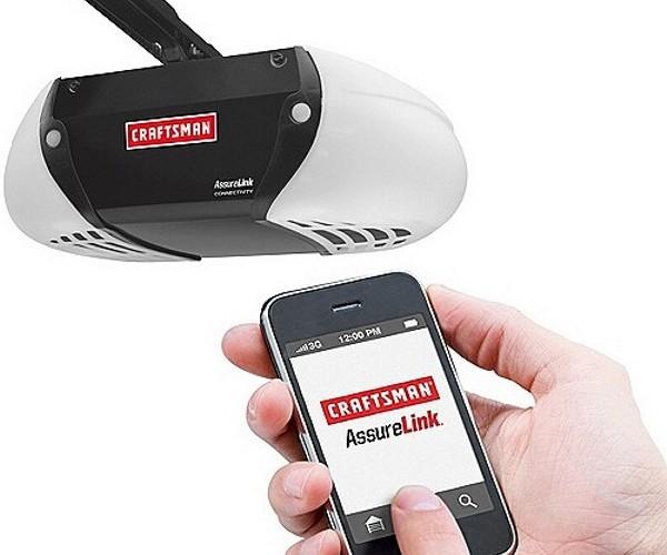 Open Your Garage Door With Your Smartphone
