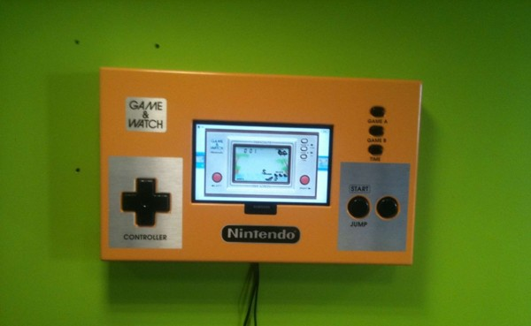 Giant Game Boy Shaped Like NES