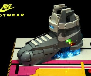 Back to the Future Nike Mag Shoes: LEGO Edition