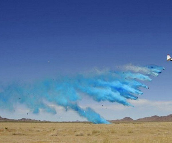 Boeing Fights Fire by Dropping Giant Water Balloon Bombs