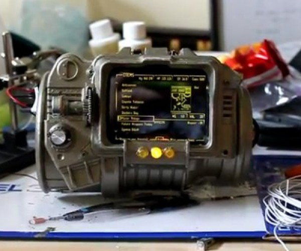 Real Life Pip-Boy 3000: Level Up Those Repair Perks