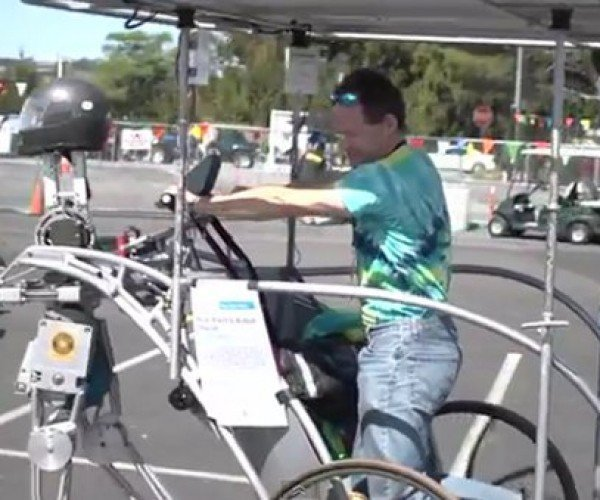 Rollerskating Robot Chariot is the Rickshaw of the Future