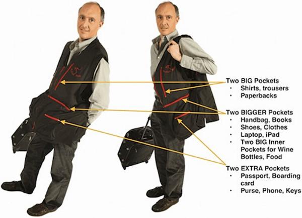 Rufus Roo Big Pocket Travel Jacket