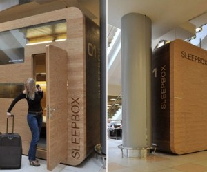 Sleepbox Lets You Catch Up On Your Sleep If You Forgot to Book a Hotel Room