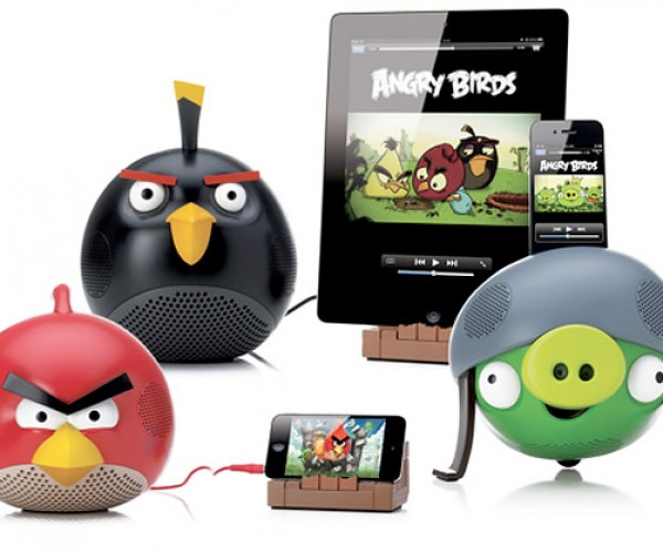 Angry Birds Speakers are, Well, Angry, Birds, Speakers (and Pigs)